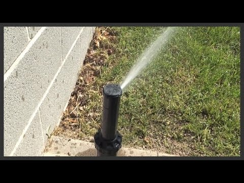 How to raise/elevate a sprinkler head