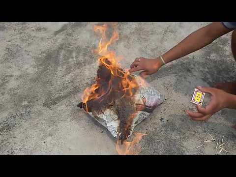 HOW TO MAKE A FLYING PAPER FIRE