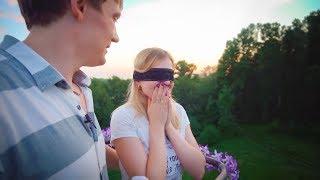 У неё не было шанса отказать!!! Красивое предложение. Усть-Каменогорск 2017
