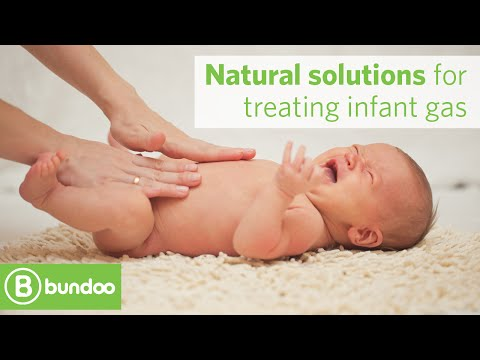 Natural solutions for treating infant gas