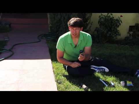 How to Repair or Replace a Broken Sprinkler Head