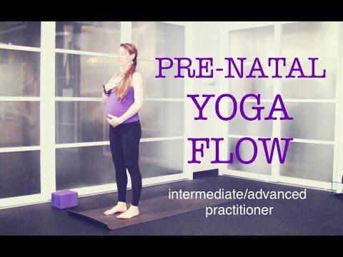 50 min Pre Natal Total Body Strong Yoga Flow | Strength, Tone, Endurance, Focus | Intermediate