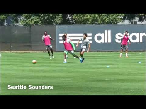 Panama U20/ Seattle Sounders  Player - Benito Martinez (Striker) - US College Soccer Video (2018)