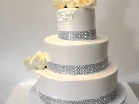 How to make cake Wedding Cake with White Roses