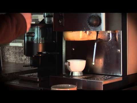 How to Make Espresso with Rancilio Silvia coffee machine