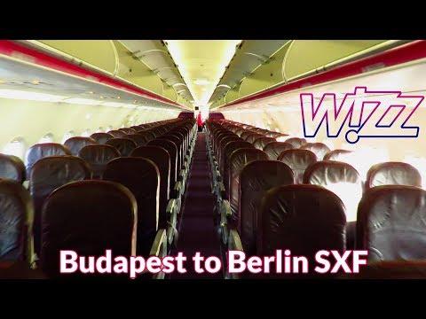 TRIP REPORT | WIZZ Air | Inaugural Flight | Budapest to Berlin Schönefeld | Airbus A320