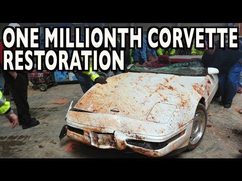 1 Millionth Corvette Restoration (Time Lapse) on Everyman Driver