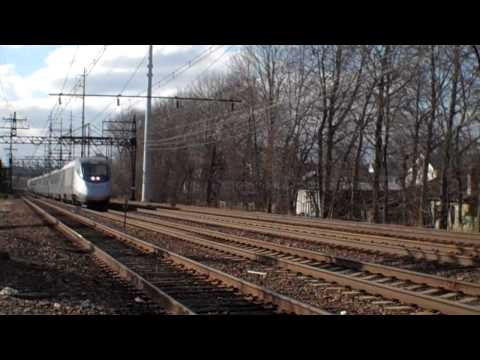 Amtrak Acela Express Train No. 2158 East Norwalk, CT