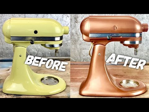 DIY: Painting A Kitchen Aid (BYOT #18)
