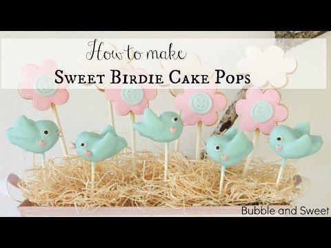 How to make super cute bird cake pops