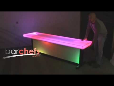 Light up LED Beer Pong Table