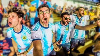 Reacciones de Amigos   Argentina vs Venezuela   Copa America 2019