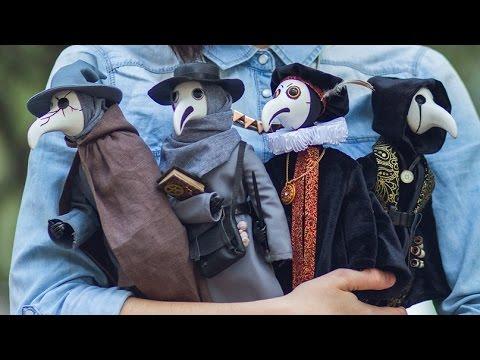 Plague Friends - Mixed Media Dolls