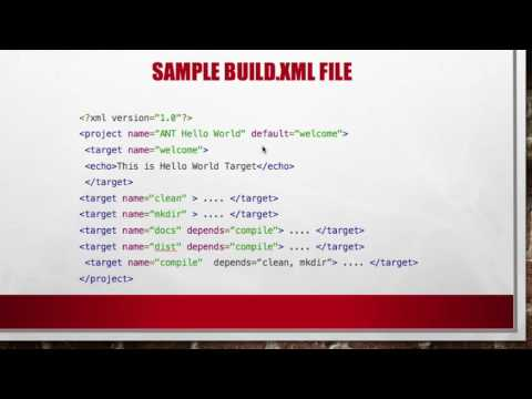 Apache Ant Practical Build Example