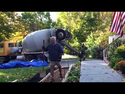 How to Make Concrete  Ramp