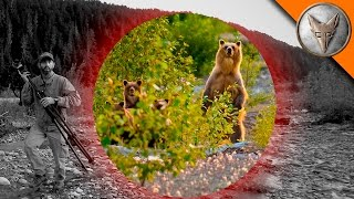 BEAR SCARE! - Grizzly with Cubs