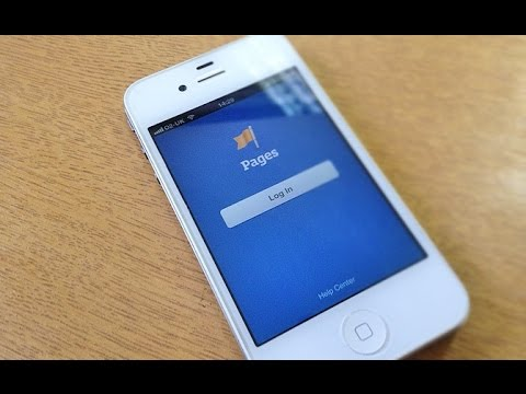Facebook Pages iPhone Video App Review and Demo