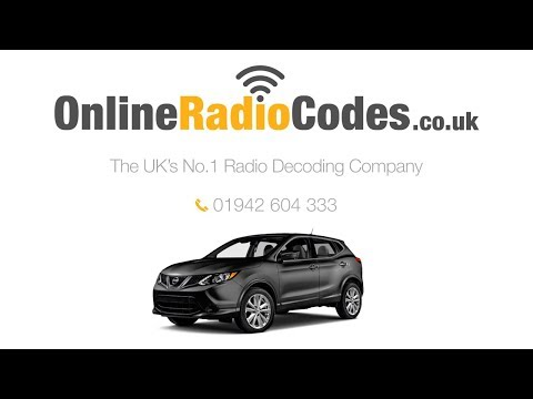 🚗 Nissan Qashqai Radio Code | Unlock Your Stereo With The Official Decode
