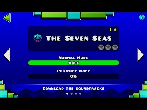 Geometry Dash Meltdown - Level 1: The Seven Seas
