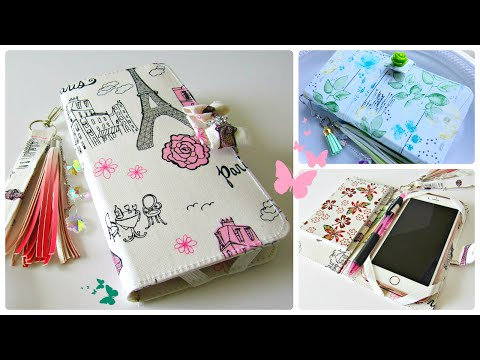 How to make your own (DIY) Iphone Case/Wallet Holder