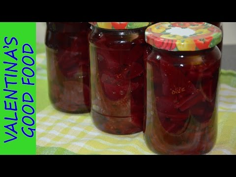 How to Can Pickled Beets  - Pickled Beets Recipe