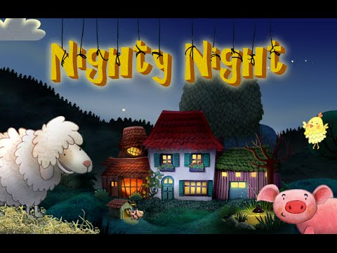 Nighty Night - the perfect bedtime story app for kids with lots of animals