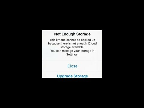 iCloud Storage Full - How to Free up iCloud storage space on iPhone iPad iPod (New Trick)