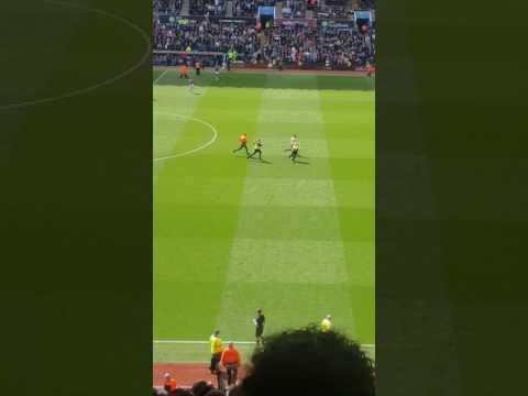 Streaker after the Aston Villa goal v Birmingham City