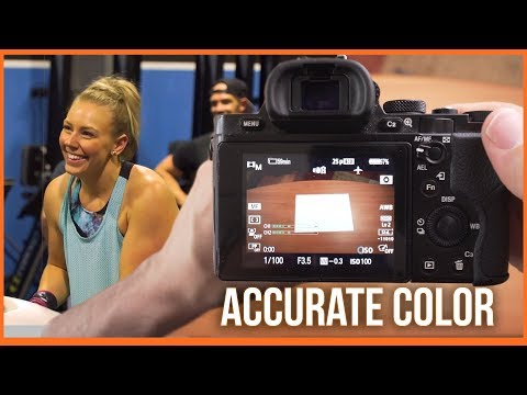 How to set custom white balance on Sony camera