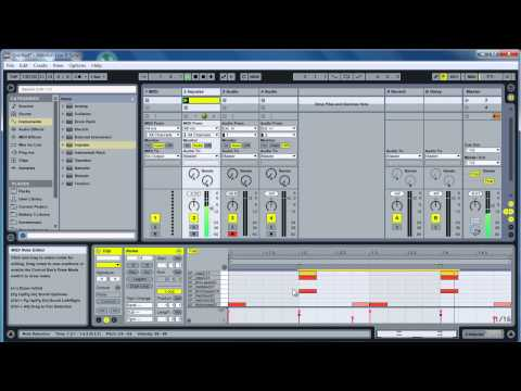 How to Create a Driving House Beat in Ableton Live 9