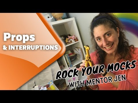 Your VIPKID Mock - Props and Interruptions, with MentorJen