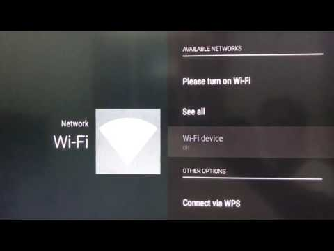 Kii pro (Android tv) wifi problem