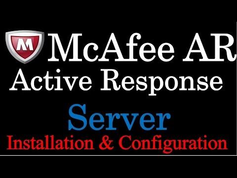 McAfee Active Response Server Installation