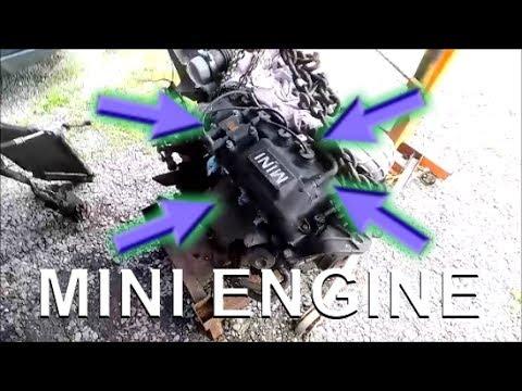 Common Oil Leak Areas on MINI Cooper S r53 Engine