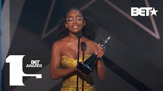 Marsai Martin Wins Well Deserved YoungStars Award! | BET Awards 2019