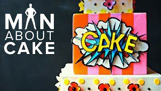 kapow pop tart cake in 3d man about cake with joshua john russell