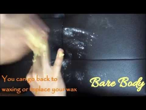 Wax too sticky?