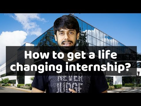 How to get a life changing internship? : For CSE & BCA Students (Hindi)