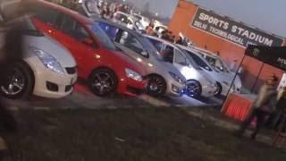 Modified cars event in Delhi
