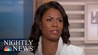 President Donald Trump Lashes Out At Omarosa Manigault On Twitter   NBC Nightly News