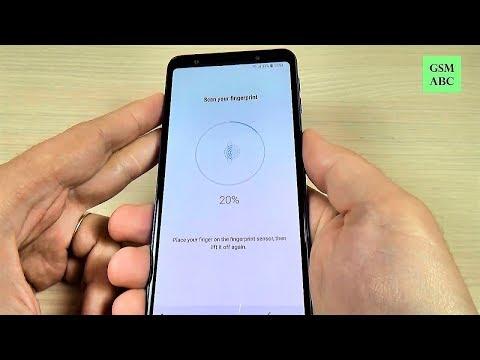 Samsung Galaxy A7 (2018) - Fingerprint Sensor (How to Setup & Test)