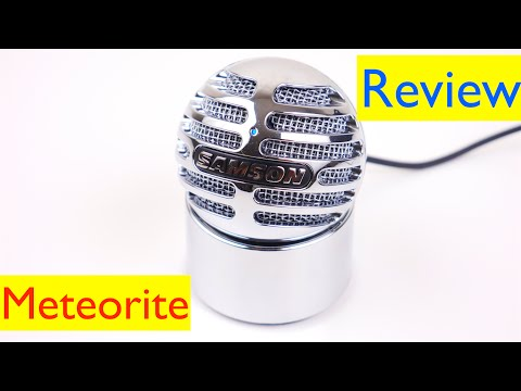 Samson Meteorite Review and Test - USB Condenser Microphone