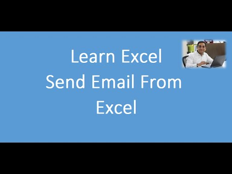 Send Email From Excel