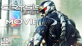 Crysis 2 Remastered All Cutscenes (Game Movie) 4k 60FPS