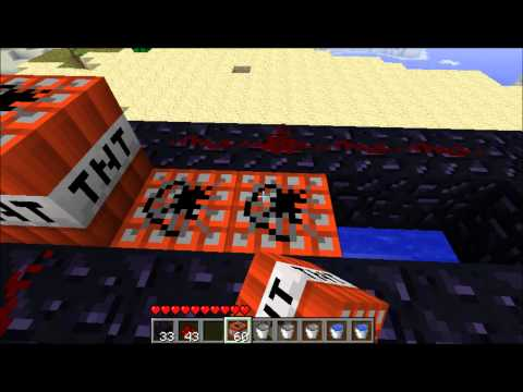 How to Make a Simple TNT Launcher