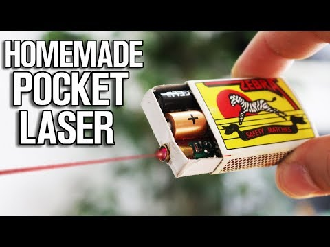 Homemade Pocket Laser (diy laser pointer)