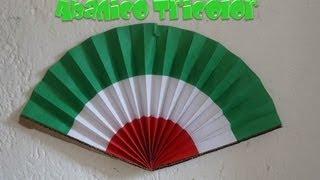 Abanico Tricolor | Fiestas Patrias | PumitaNegraArt🐾