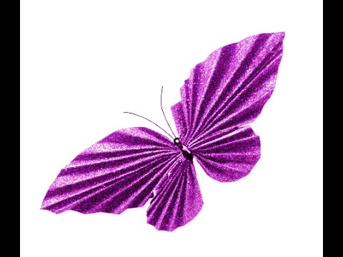 Awesome Paper Butterfly. Easy to do. Room decoration. EASTER decoration ideas