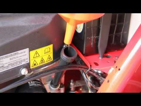How to Change Engine Oil on a Ride on Lawnmower *HD*