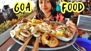 Goa Food Vlog | Exploring North Goa | Indian Food | Seafood | Anagha Mirgal